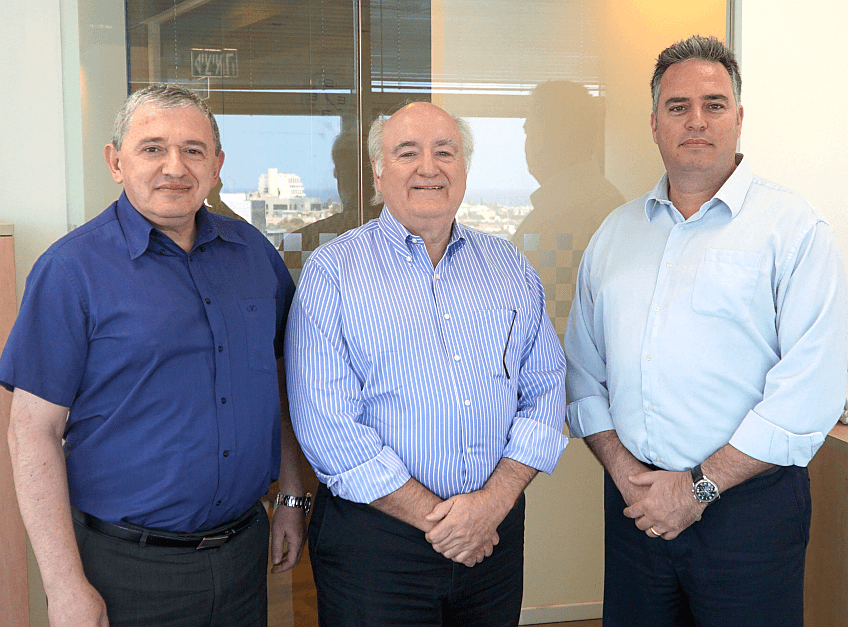 Rick Clemmer with NXP Israel Executives